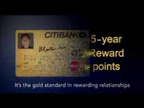 "Citibank Gold Card  ""Keeping Up"" TVC"