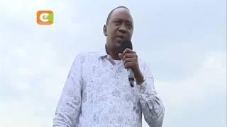 Uhuru na Ruto wazuru kaunti ya Kiambu