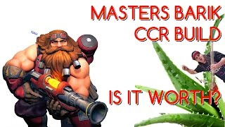 MASTERS BARIK CCR BUILD. IS CCR WORTH IT? - Paladins Masters Barik Gameplay