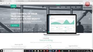 Telecoms billing website v3.0