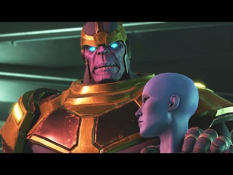 Guardians of the Galaxy Telltale Episode 3 All Thanos Appearances