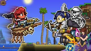 MASTER MODE but I'm a lucky Pirate! | Terraria 1.4 HappyDays