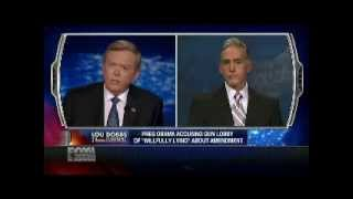 Trey Gowdy Attacks Obama Accusing NRA a