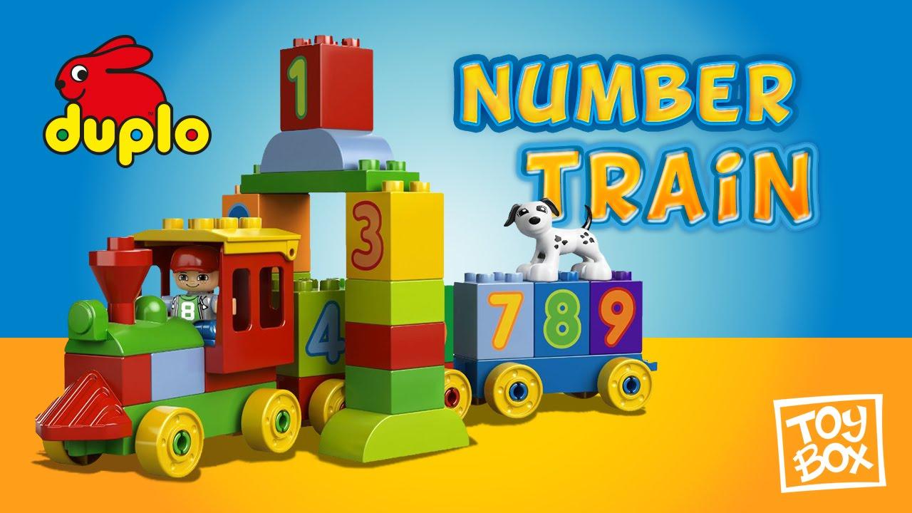LEGO DUPLO My First Number Train 10558 / El tren de los números - YouTube