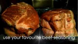 How To Slow Cook Roast Beef