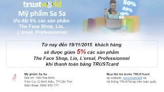 Mỹ phẩm Sa Sa – Ưu đãi 5% các sản phẩm The Face Shop, Lio, L'oreal, Professionnel