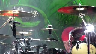 Nigel Glockler  - Drum Solo (SAXON - Spanish Tour 2013)