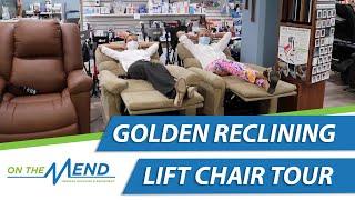 Golden Technologies Reclining Lift Chair Tour 2020