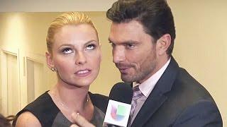 Marjorie de Sousa reveló cómo es trabajar junto a su ex novio Julián Gil