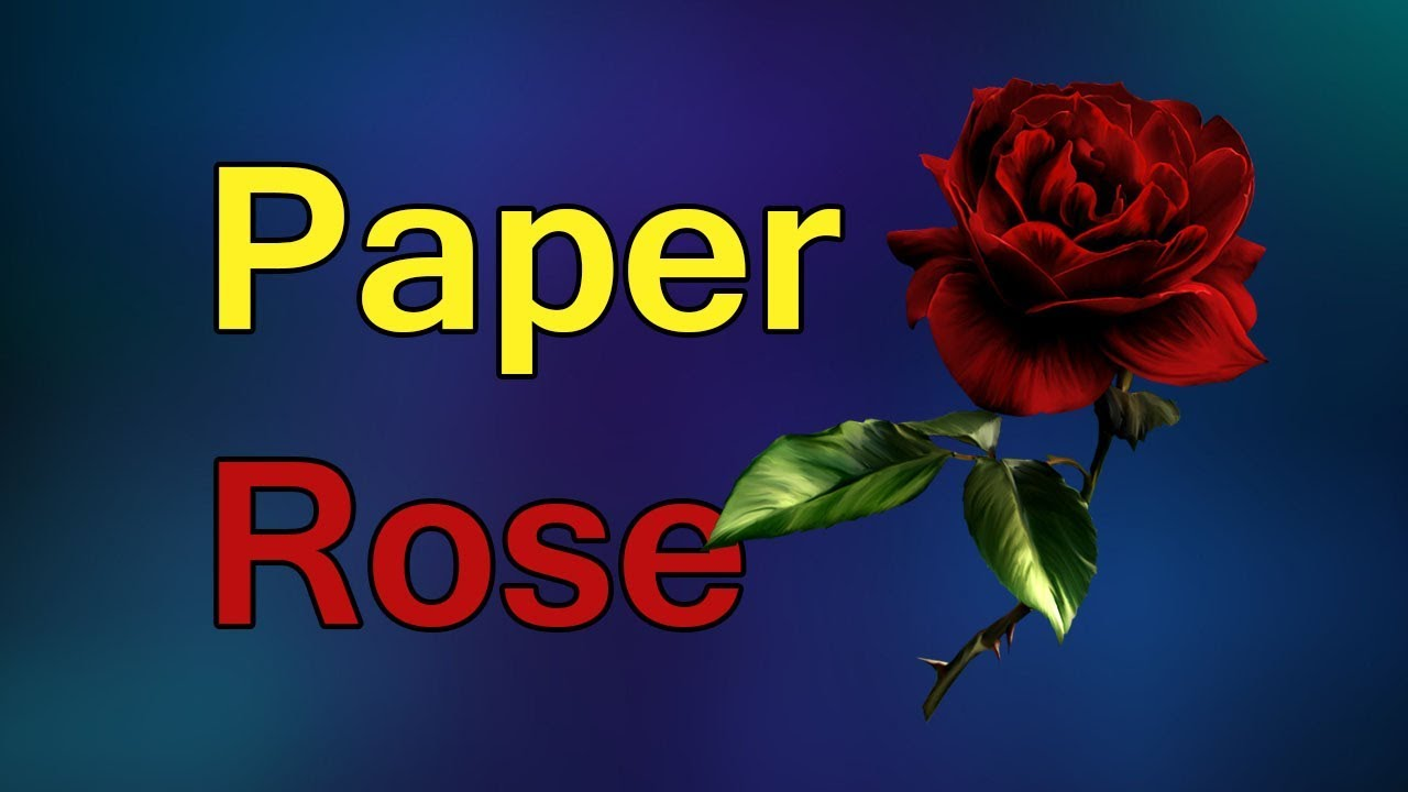 Amazing things made out of paper 3 how to origami rose youtube amazing things made out of paper 3 how to origami rose jeuxipadfo Choice Image
