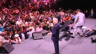 Benny Hinn - Power of God Falling In  Philadelphia