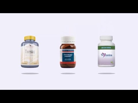 Product Reviews Of Thyroid Assist Thyromine And Thyax Youtube