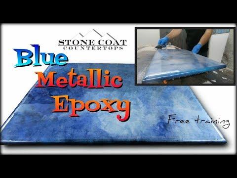 Blue Sky Metallic Epoxy, You Got This!