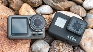 GoPro Hero 7 Black vs DJI Osmo Action - Finally, A Worthy Opponent