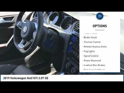2019 Volkswagen Golf GTI 2019 Volkswagen Golf GTI 2.0T SE FOR SALE in Corona, CA V9181T
