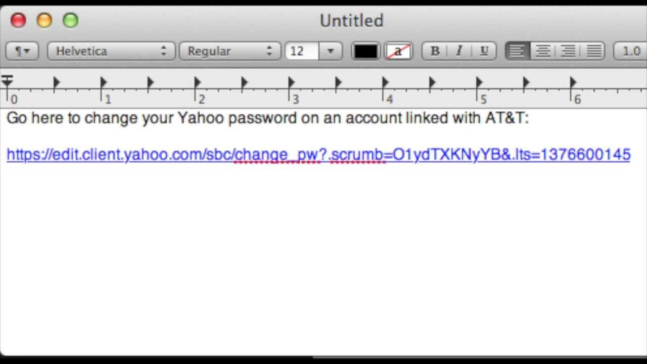how to change yahoo mail password on pc