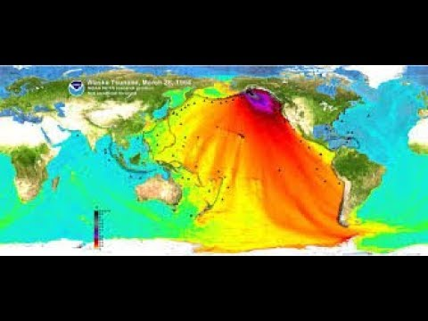 1/23/2018 Alaska Earthquake Tsunami Watch |  LIVE Camera | Oregon, BC, San Diego