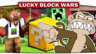 МАКАКо-ВОИН!!! на парящих Островах - Lucky Block Minecraft