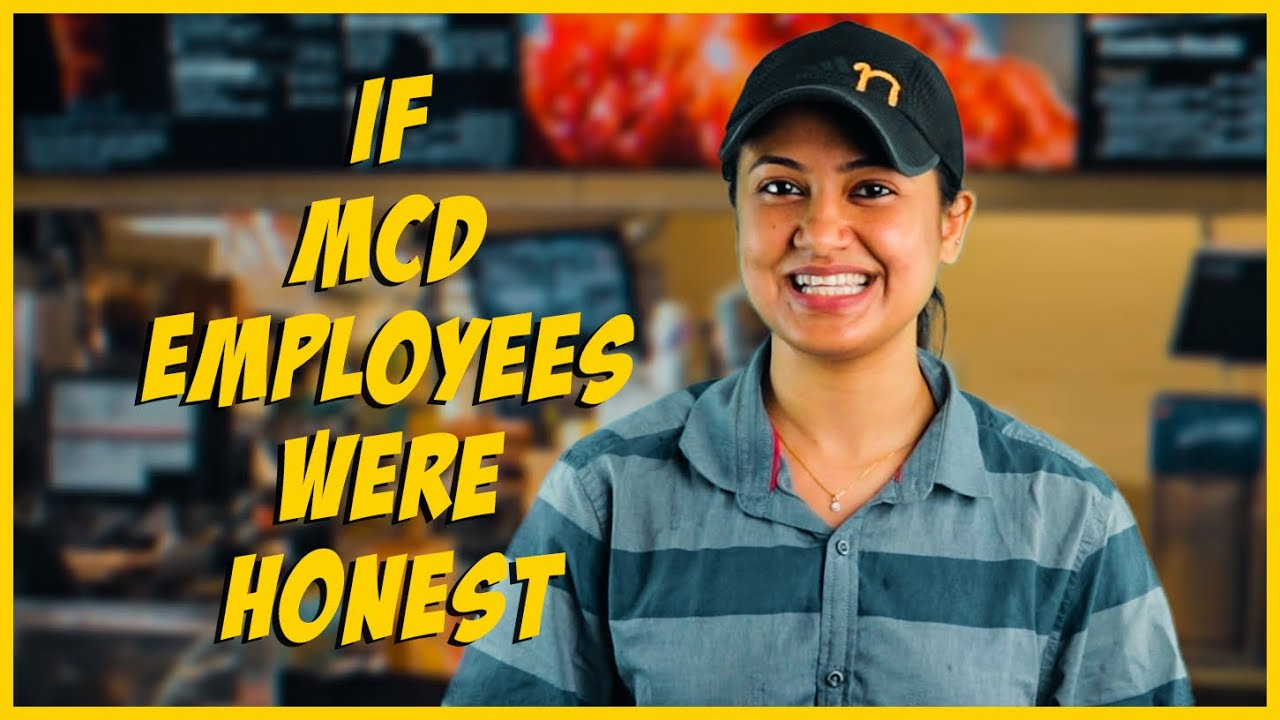 If McD Employees Were Honest // Captain Nick