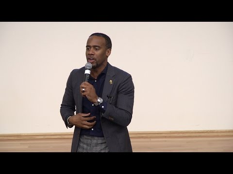 Jeff Johnson at Maryland Male Students of Color Summit