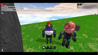 Roblox in : waioo and I building PGF base