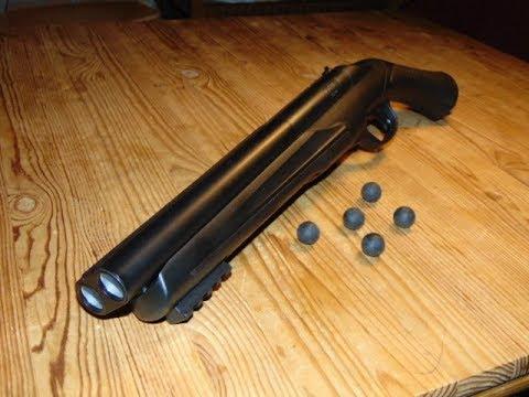 Umarex T4E HDS 68 Home Defense Shotgun - Review Und Schusstest