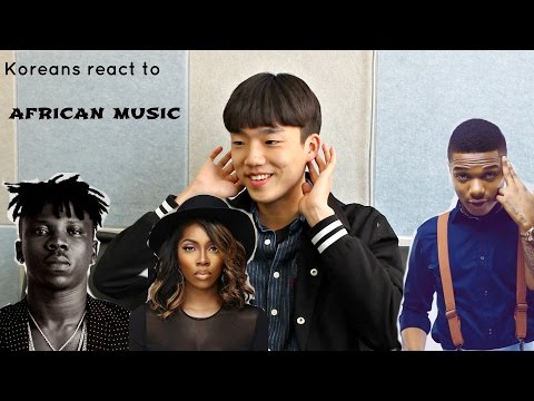 Koreans React to West African Music