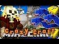 Minecraft Mods - CRAZY CRAFT 2.0 - Ep # 1 'LUCKY BLOCKS, SEA SNAKES & PIRATES!!'