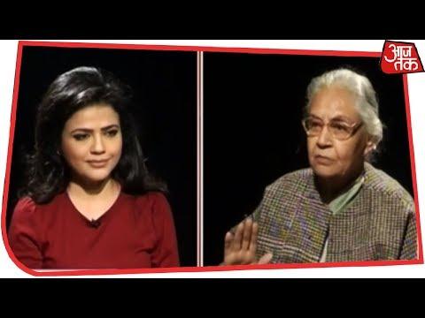 गठबंधन राजनीति पर Sheila Dikshit से सीधी बात | सीधी बात Sweta Singh के साथ