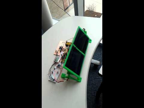 Solar Powered, Embedded Web Server