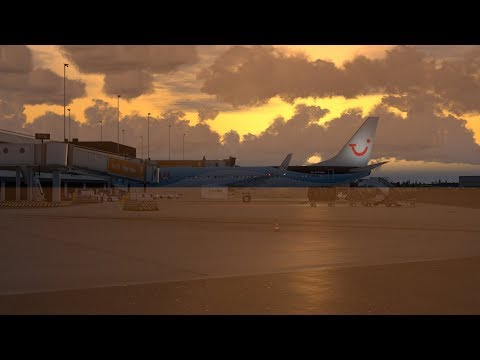 [Prepar3D]TFL422 São Vicente(GVSV) Sal(GVAC) Amsterdam(EHAM) PMDG Boeing 737-800NGX