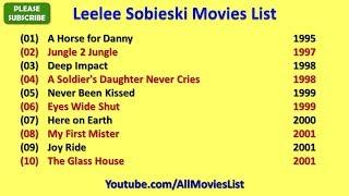 Leelee Sobieski Movies List