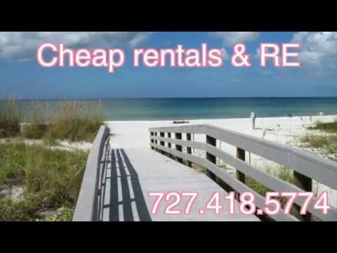 Cheap Rentals & Real Estate Indian Rocks Beach
