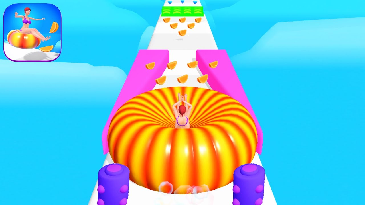 Download ORANGE RUN! game HIGH SCORE 👗🌈👸 Gameplay All Levels Walkthrough iOS, Android New Game Level Full