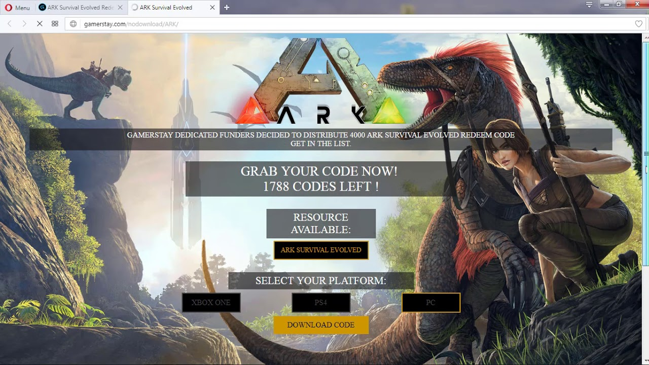 Ark Survival Evolved Xbox One Game Code | Gameswalls org
