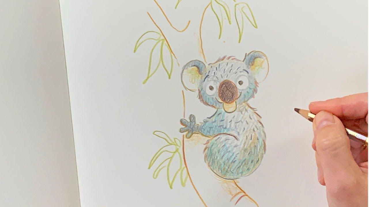 Download Nina zeichnet Koalamädchen Sydney - Schule der Magischen Tiere Zeichenworkshop - Zeichenkurs