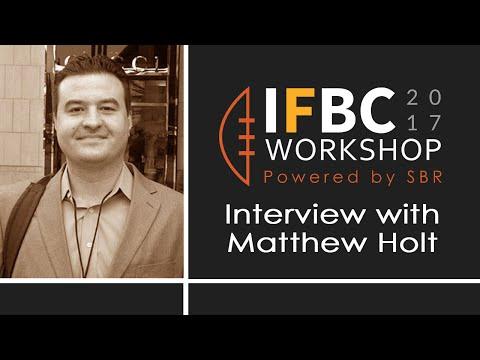 IFBC | Matthew Holt interview | Sportsbook Review