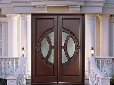 Wooden doors design catalogue youtube for Wooden main door design catalogue