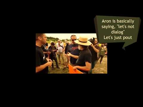Why AronRa refuses to debate me - Now I understand