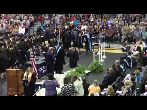 Carl Albert State College Graduation 2015