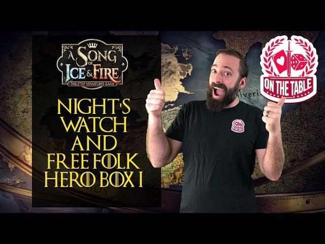 ASOIAF TMG: Night's Watch and Free Folk Hero Box 1