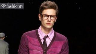 John Richmond Men: Rock & Roll Country Looks for Fall 2012 | Designer at Work | FashionTV FMEN