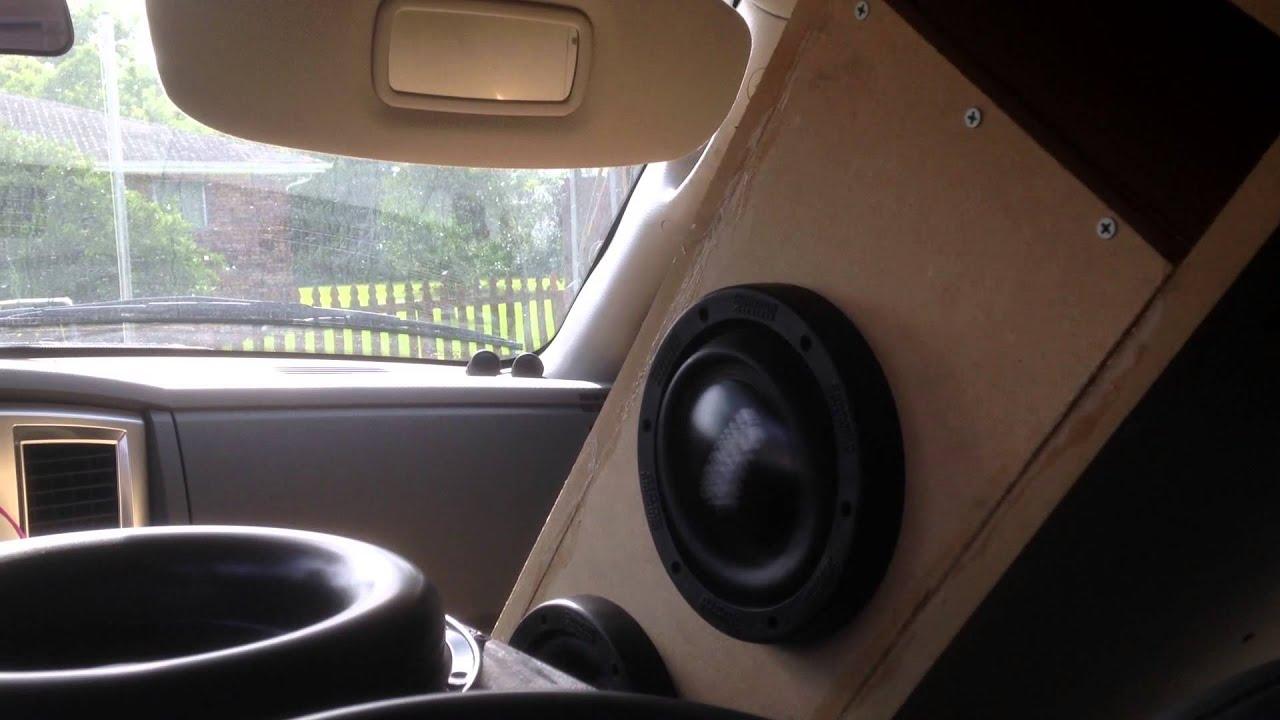 Sundown Audio X6 5  Custom Subwoofer Box Tuned To 32 Hz