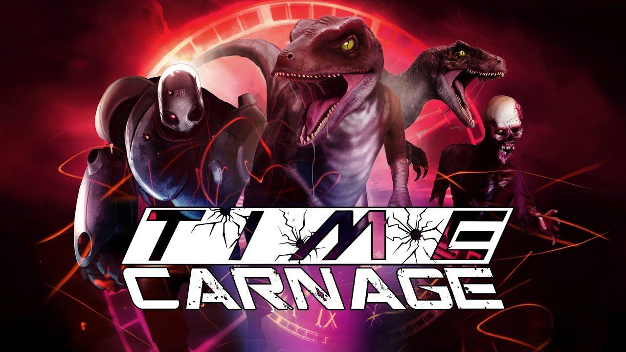 Αποτέλεσμα εικόνας για Time Carnage PS4