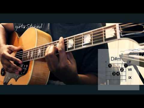 Ellie Goulding - Burn Guitar Easy Tutorial (w/ chords)