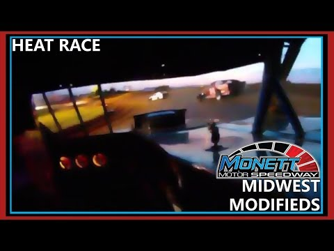 Monett Speedway Midwest Mod Heat #2 July 24th 2015