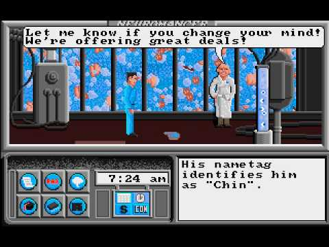 Let's Play Neuromancer 04 - Business in Chiba City