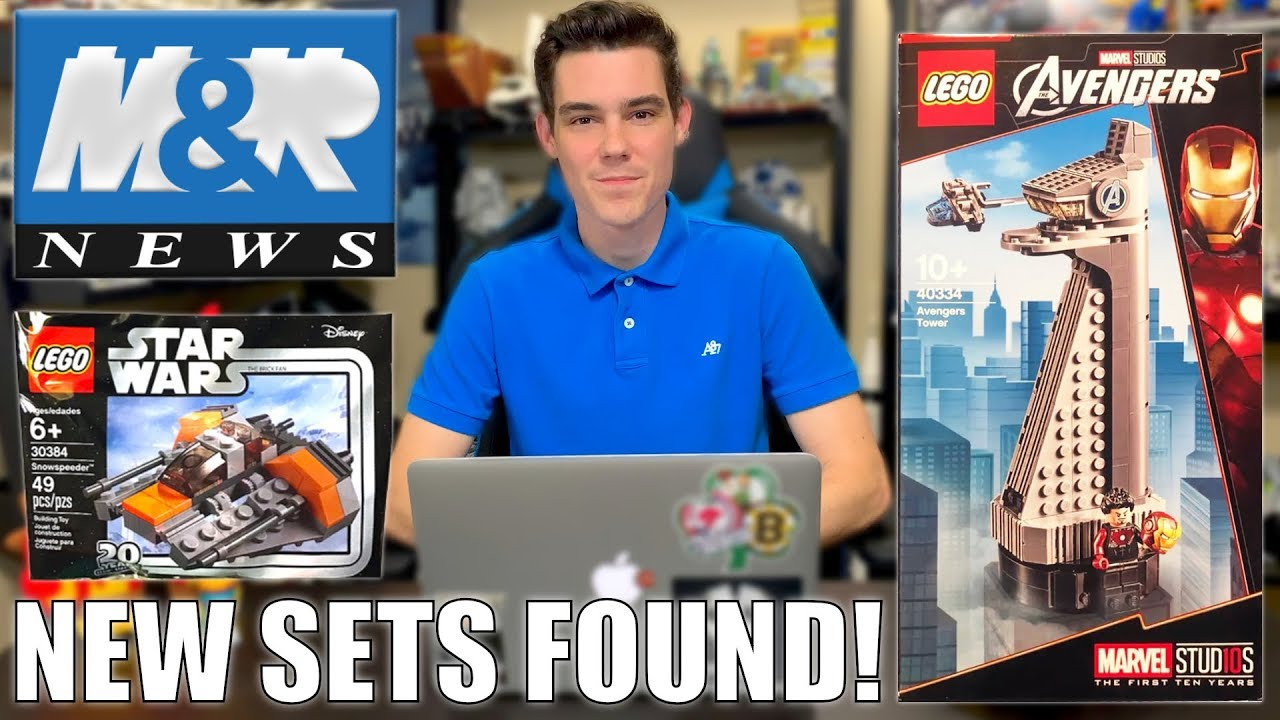 NEW LEGO Star Wars Sets FOUND! LEGO Avengers Tower Set ????+ LEGO IDEAS PIRATES SET? | LEGO NEWS