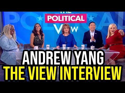 Andrew Yang on The View | Full Interview September 26th 2019