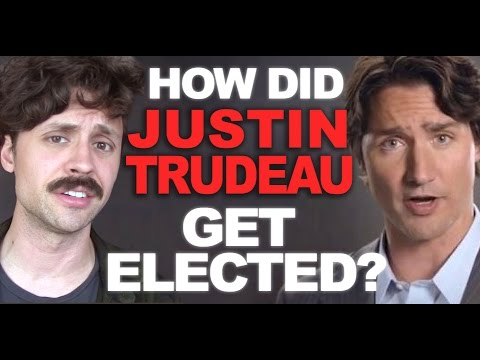 How did Justin Trudeau win the Canadian election?